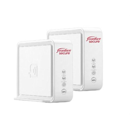 dual pack airi by frontier secure air 4920 802.11ac 1600mbps smart mesh wi-fi (2 port gigabit ethernet) mesh access point