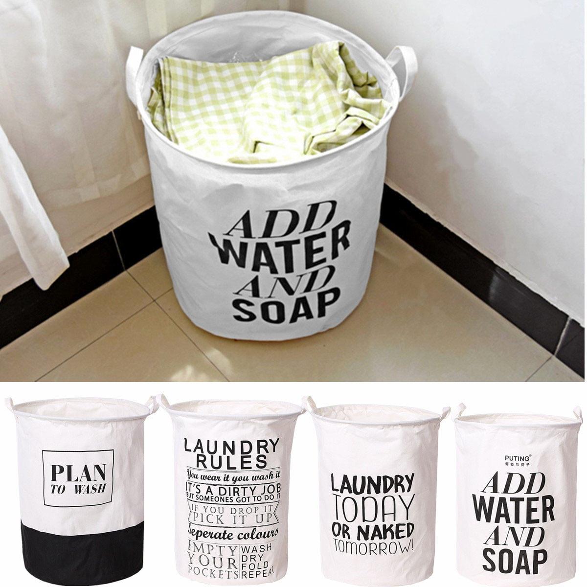 Waterproof Folding Laundry Basket Laundry Bag Foldable Linen Washing Clothes Laundry Basket Pop Up Hamper Toy Sotrage Hand Bag