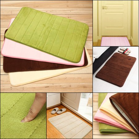 32''x20''x0.6'' Non-slip Memory Foam Shower Mats Bathroom Rugs Bedroom Door Balcony Carpets Rug ()