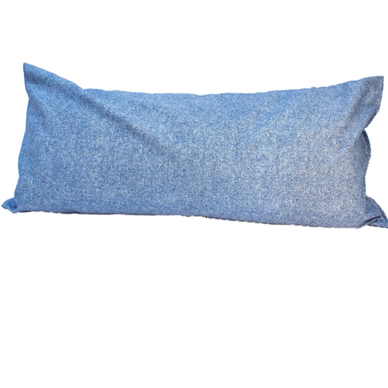 "33"" Pale Blue Deluxe Hammock Rectangular Pillow"