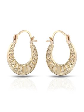 a6c4046f6 Product Image 10 KARAT YELLOW GOLD CLASSIC HOOP EARRINGS (16MM). M.C.S.  JEWELRY INC.