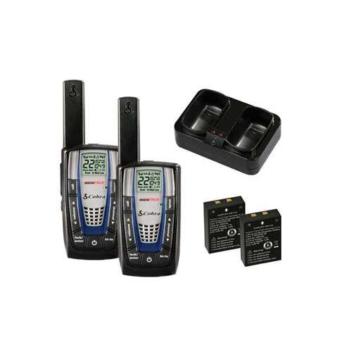 Cobra Electronics Cxr825 30-mile Microtalk 2-way Radios, 2 Pk