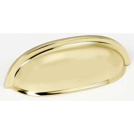 Alno Inc Traditional 3 Center Cup Bin Pull