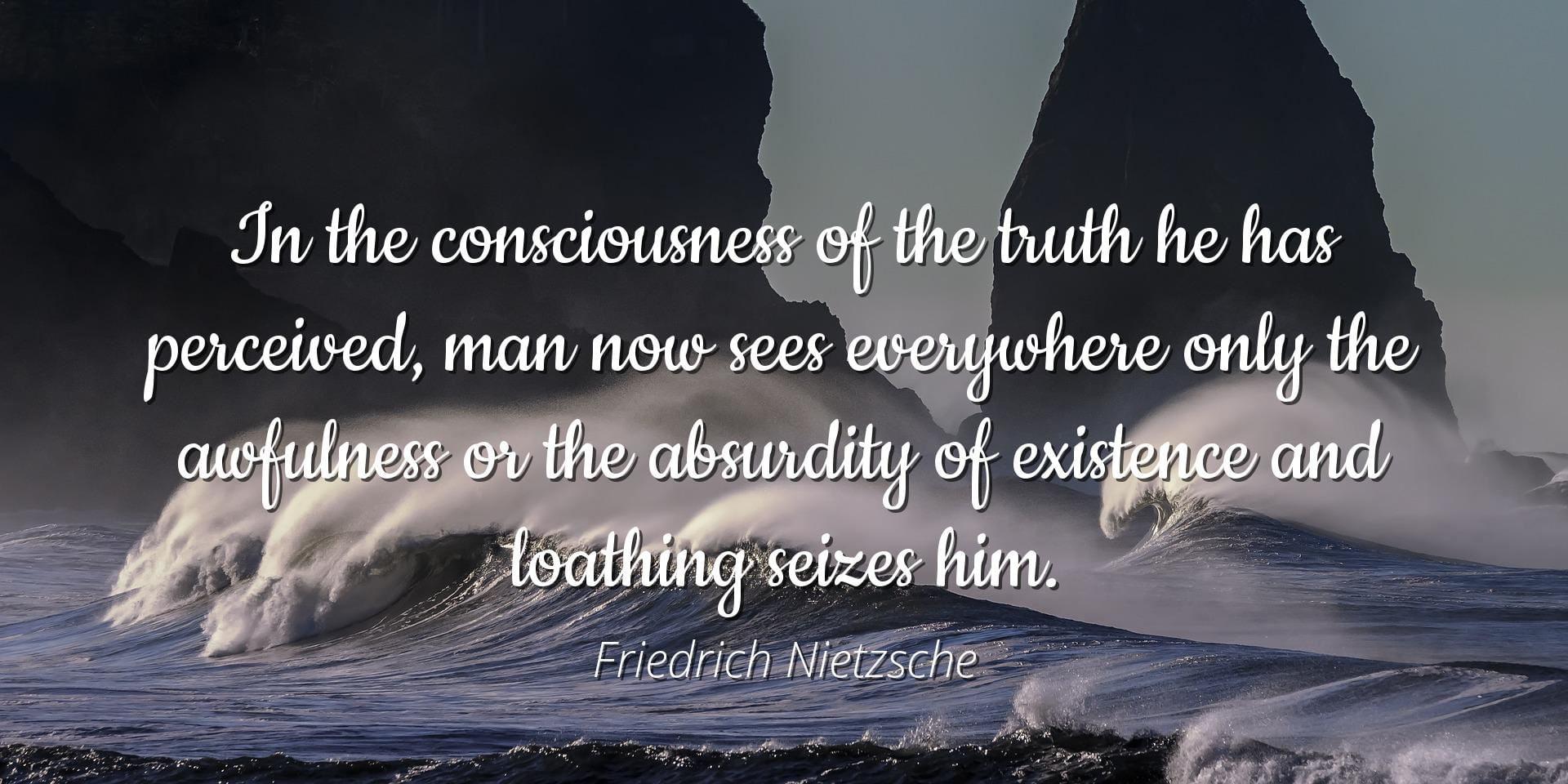 Friedrich Nietzsche Famous Quotes Laminated Poster Print 24x20