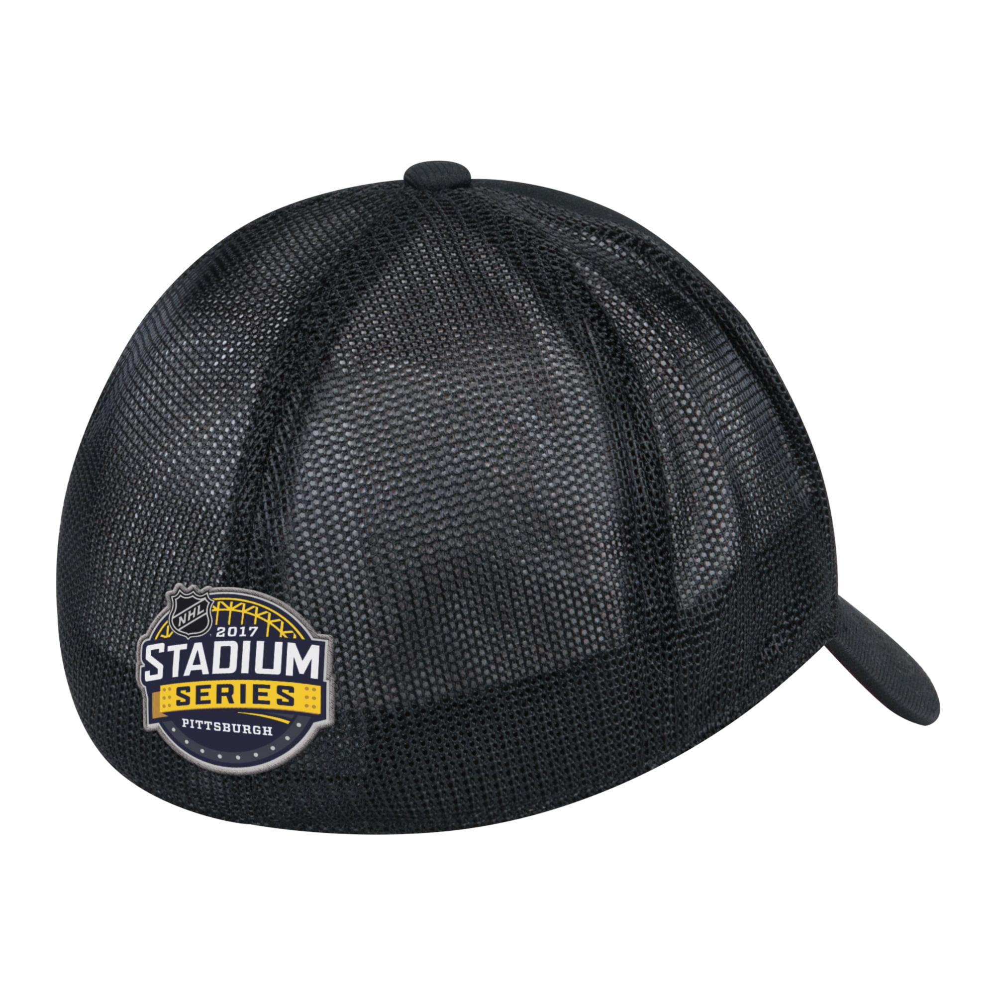 f36a02e9eb9 Philadelphia Flyers Reebok 2017 Stadium Series Coach Structured Flex Hat -  Black - Walmart.com
