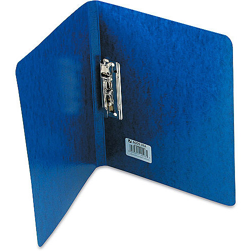 "Wilson Jones PRESSTEX Grip Binder, 5/8"" Cap, Dark Blue"