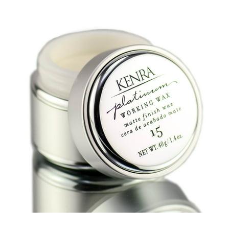 Working Wax (Platinum working Wax #15 by Kenra for Women - 1.4 oz)