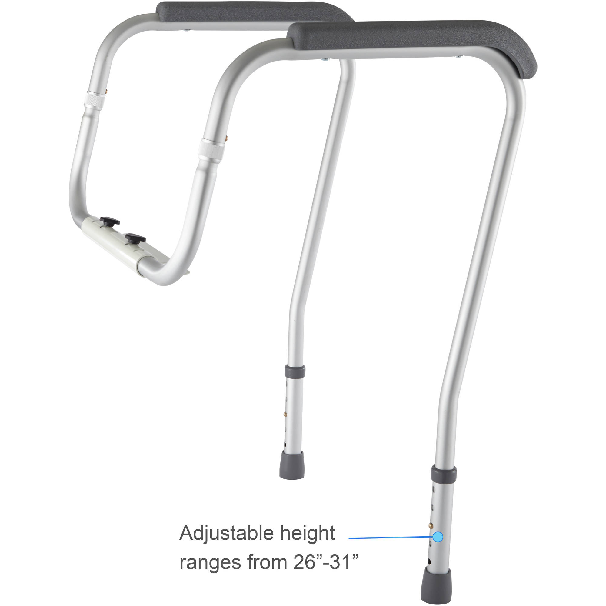 Medline Toilet Safety Frame Rails - Walmart.com