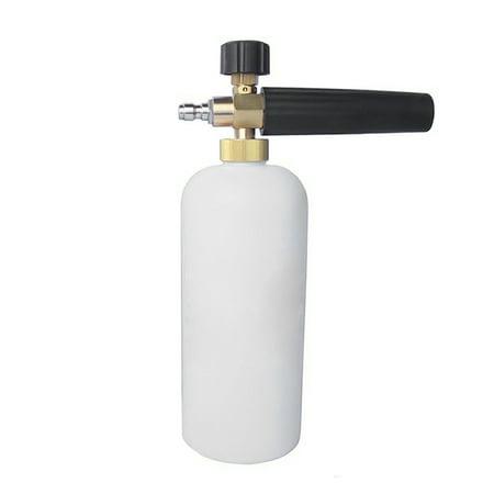 Hot Foam Lance Snow Cannon Pressure Washer Gun Car Foamer Wash Quick Adapter Jet To