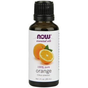 NOW Orange Oil, 1 Oz