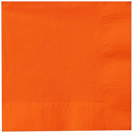 Sunkissed Orange Beverage Napkins, 50pk Daisy Beverage Napkin