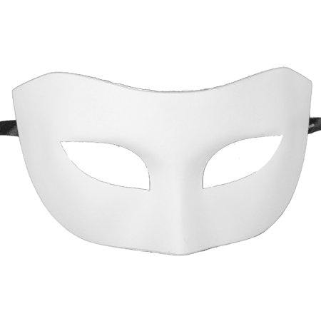 BLANK WHITE VENETIAN MASK - Arts and Crafts - HALLOWEEN - Halloween Arts And Crafts 3rd Grade