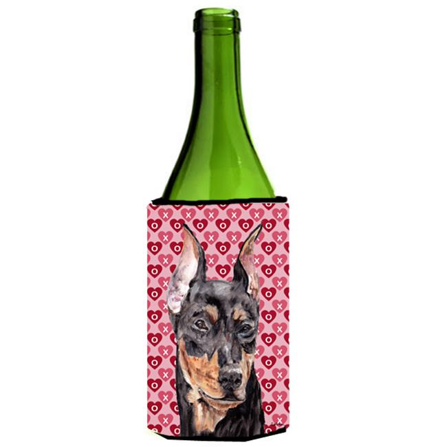 German Pinscher Hearts And Love Wine bottle sleeve Hugger  24 Oz. - image 1 of 1