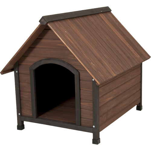 Petmate Aspen Pets Ruff Hauz Wood Peak Dog House