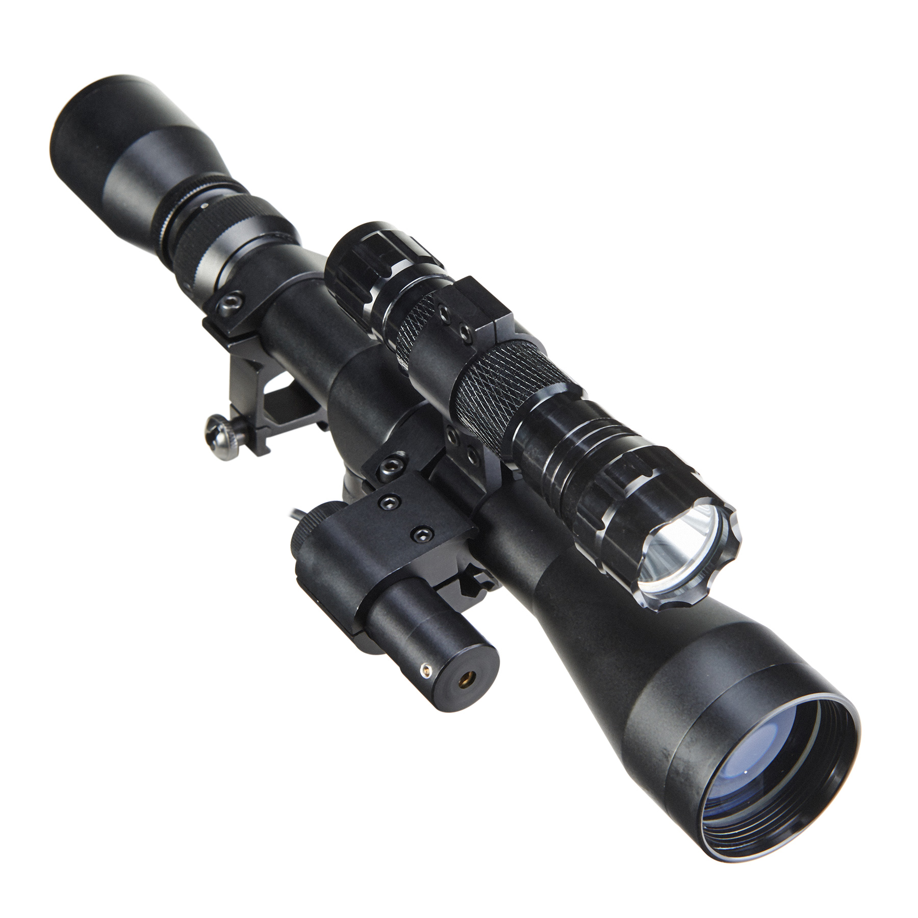 Tactical Cross Reflex Riflescope with Laser Sight 3-9X40mm for Hunting by
