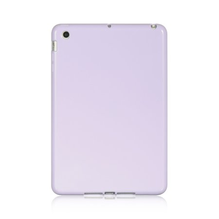 Insten Crystal TPU Rubber Candy Skin Back Gel iPad Cover Case For Apple iPad Mini 1 / 2 / 3 -