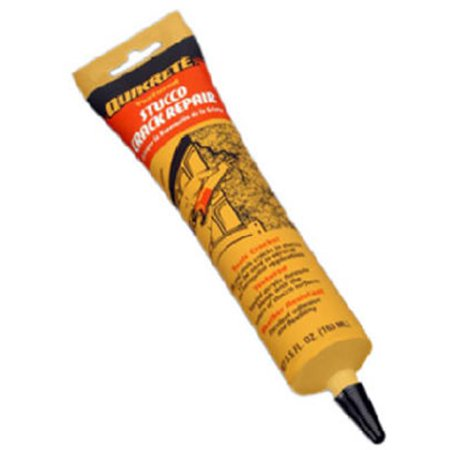 QUIKRETE COMPANIES 5.5-oz. Stucco Crack Repair (Quikrete 80 Lb Premixed Finish Coat Stucco Mix)