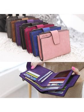 7393f90cd85 Product Image Fashion Women Girls Short Wallet Coin Purse Organizer Pocket  Small Credit Card Holder Handbags