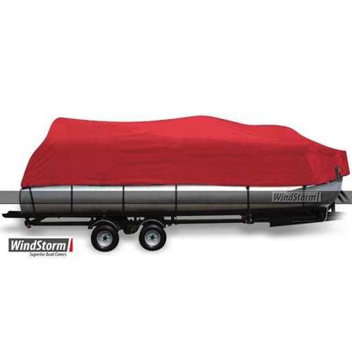 Eevelle WindStorm Pontoon Boat Cover with Rails