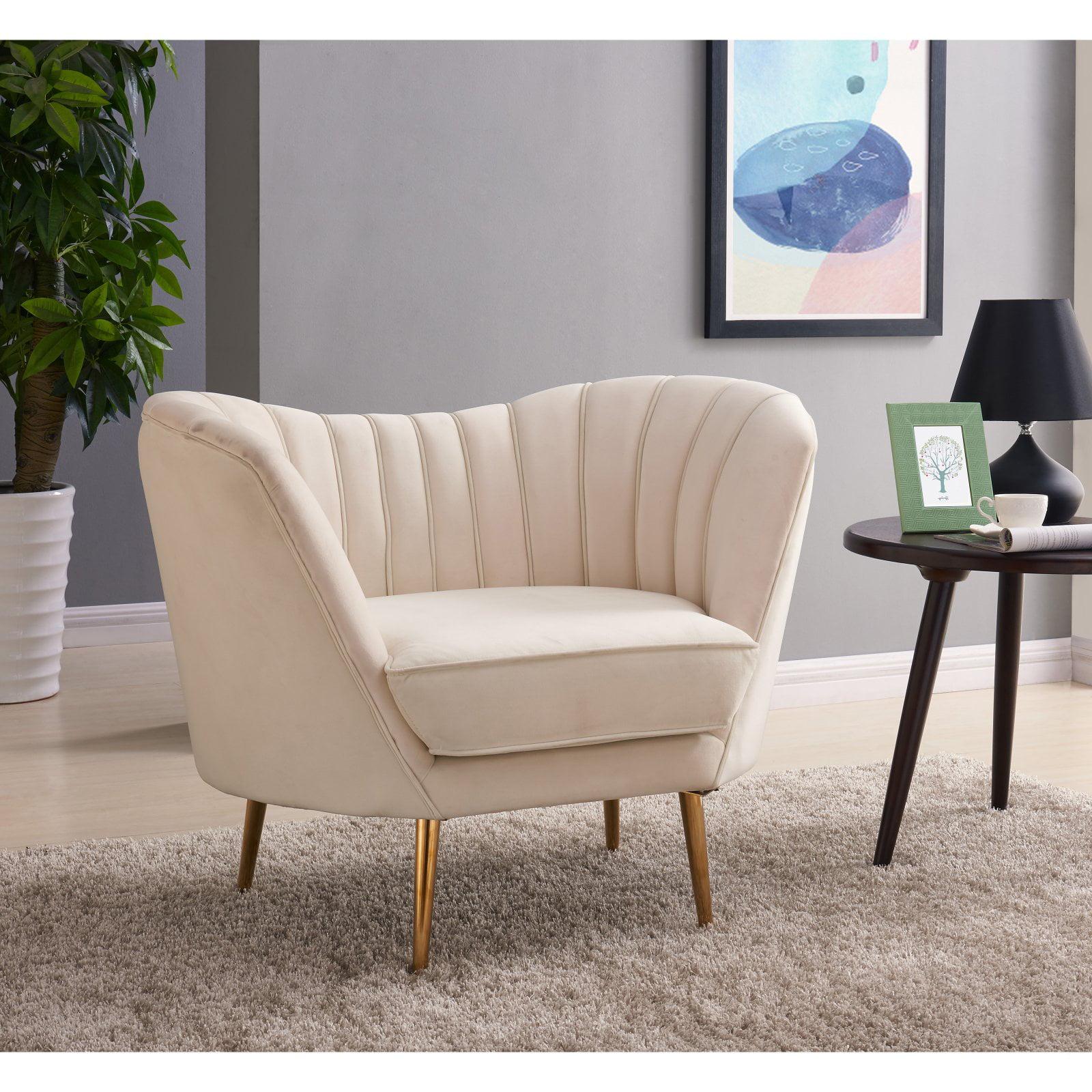 Meridian Furniture Inc Margo Velvet Chair