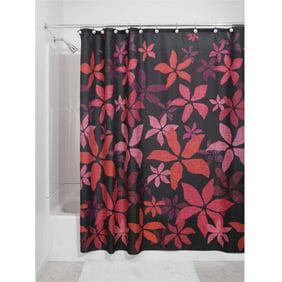 InterDesign Tessa Fabric Shower Curtain
