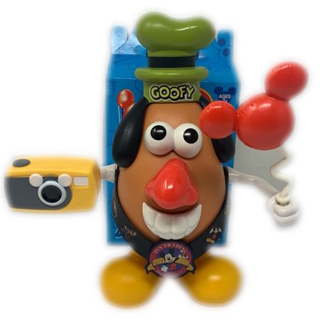 Disney Exclusive Mr Potato Head Goofy Full Accessories WDW Resorts - Ms Potato Head