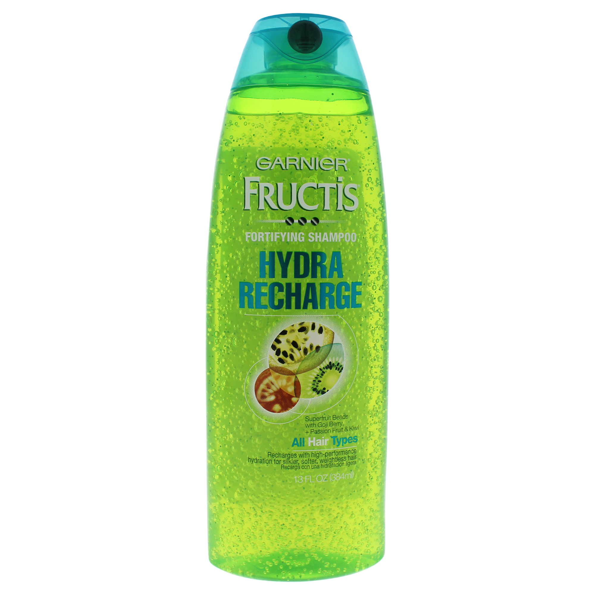 Garnier Fructis Hydra Recharge Shampoo for Normal to Dry Hair, 13 Fl Oz