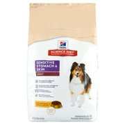 Hill`s Science Diet Adult Sensitive Stomach & Skin Chicken Meal & Barley Recipe Dry Dog Food, 30 lb bag