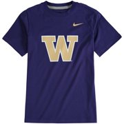 Washington Huskies Nike Youth Cotton Logo T-Shirt - Purple