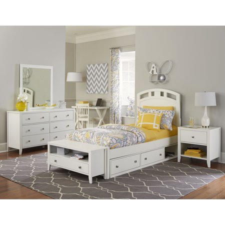 High Arch Bed (Hillsdale Kids and Teen Hillsdale Pulse Twin Arch Bed with Storage, White)
