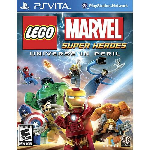 LEGO: Marvel Super Heroes Universe in Peril, WHV Games, PS Vita, 883929317936