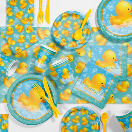 (Bubble Bath Rubber Duck Baby Shower Kit)