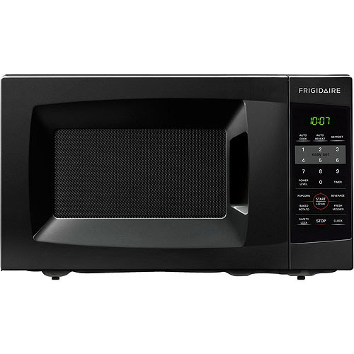 Frigidaire 0.7 Cu Ft 700W Countertop Microwave Oven, Black by Frigidaire