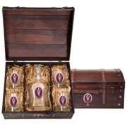Arizona State University Capitol Decanter Chest Set by Heritage Metalworks