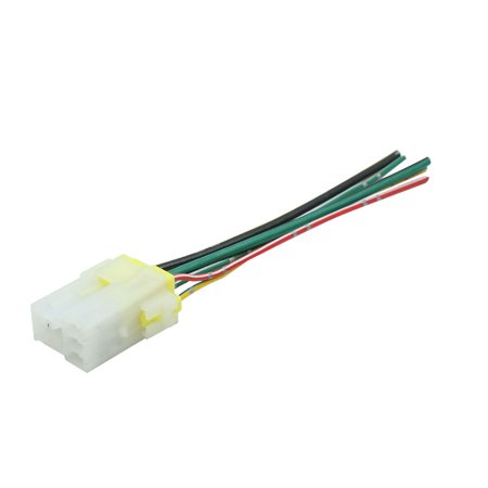 DC 12V 5 Pin Wire Cable Relay Socket Harness Plug Connector Adapter A Pin V Relay Wiring on