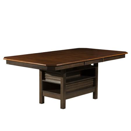 Alpine Furniture Alpine Davenport Extension Dining Table - Espresso