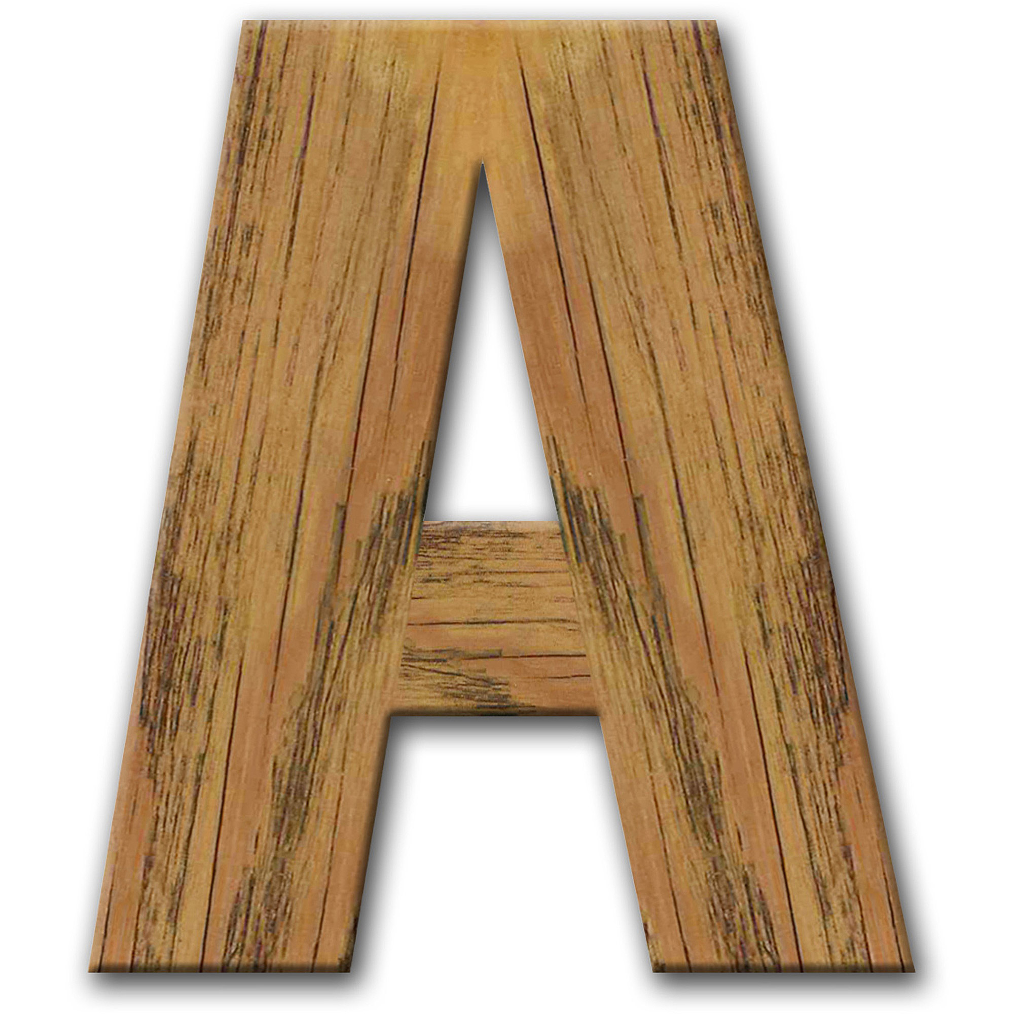 Reclaimed Personalized Monogram Letter, Choose Your Initial
