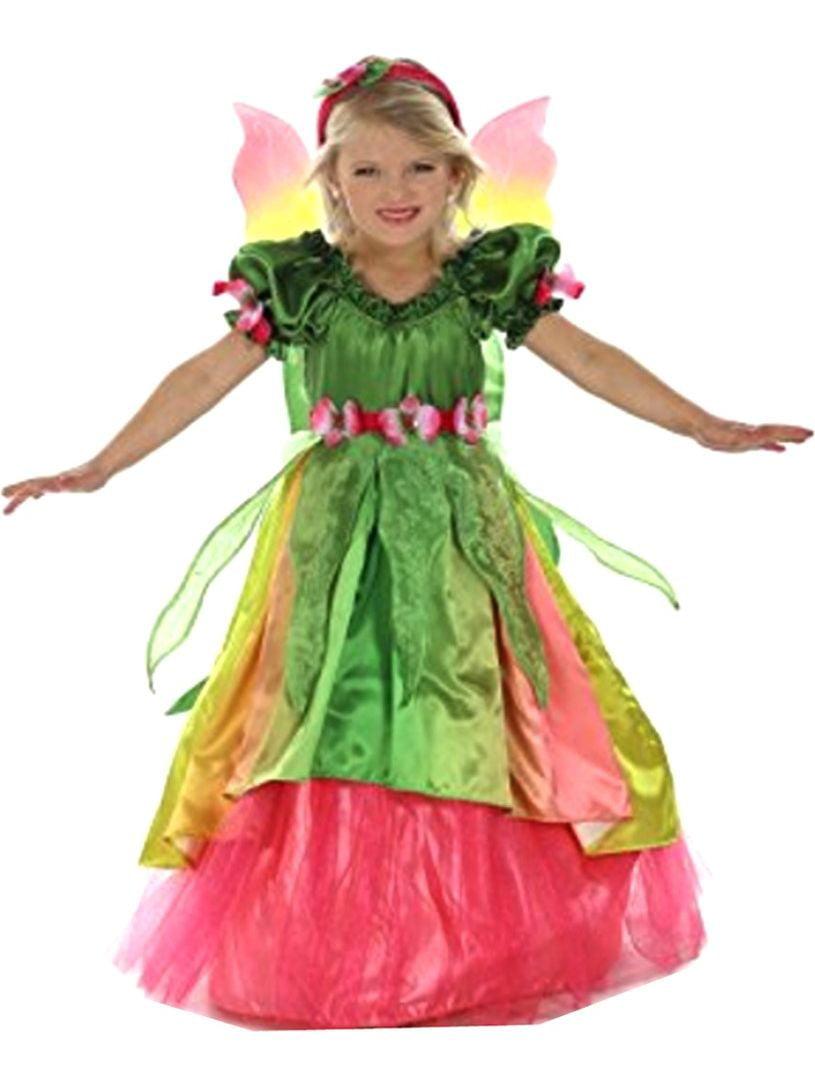 Girls Green Eden The Garden Princess Headband Dress Halloween Costume by Princess Paradise