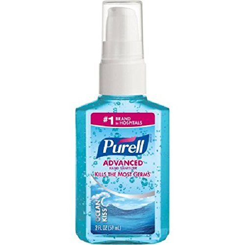 (Pack of 12) PURELL Advanced Hand Sanitizer, Ocean Kiss, 2 Oz