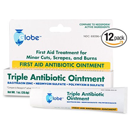 First Aid Triple Antibiotic Ointment 1oz Tube- 12 Pack