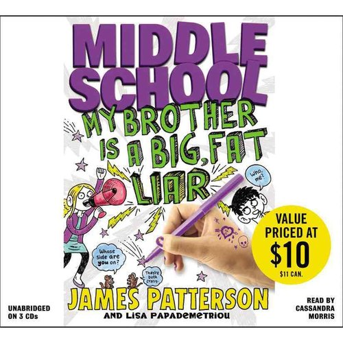 Middle School: Big Fat Liar: Includes Pdf of Illustrations