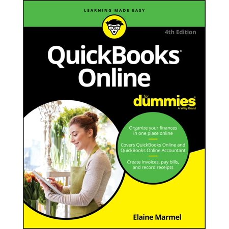 QuickBooks Online For Dummies Paperback Walmartcom - How to create a invoice walmart online shopping store pickup