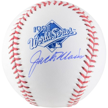 Jack Morris Minnesota Twins Autographed 1991 World Series Logo Baseball - Fanatics Authentic Certified