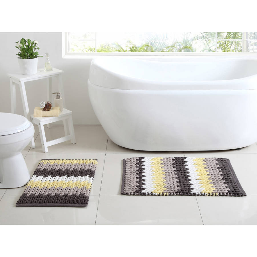 Better Homes and Gardens Braided 2-Piece Bath Rug Set by VCNY