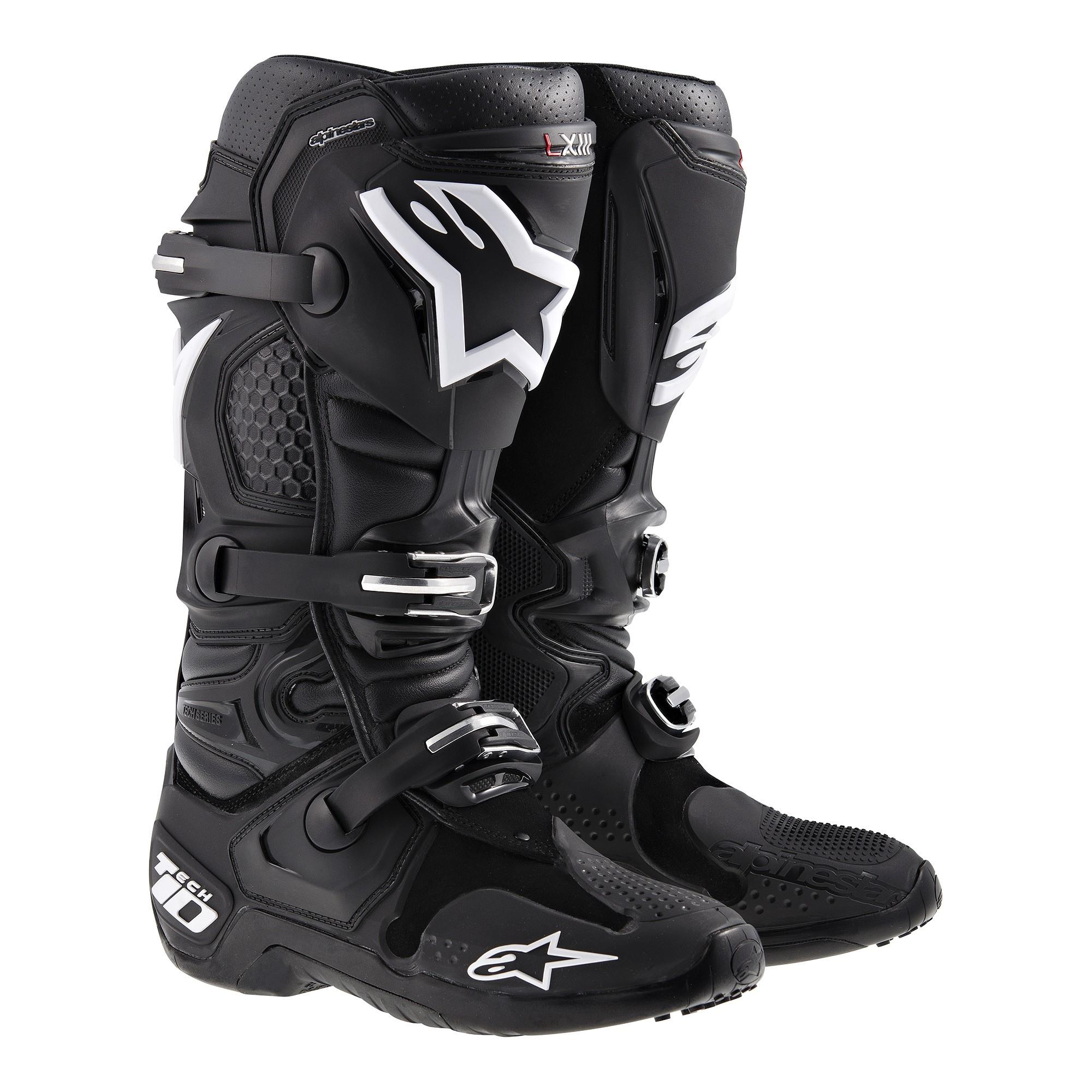 Alpinestars Tech 10 Boots (Black, 9)