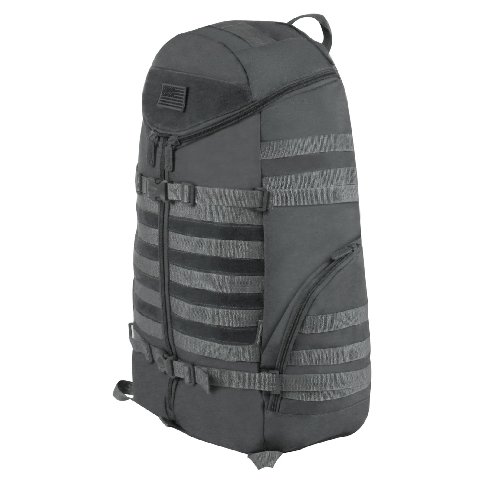 East West U.S.A. Tactical Molle TriZip Outdoor Backpack