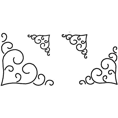 """Sten Source Quilt Stencils, 3"""", 4"""", 5"""" & 7"""" Blocks"""