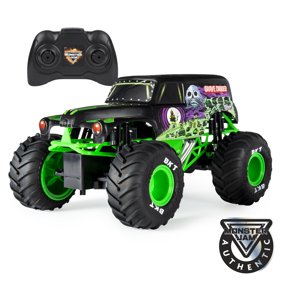 Monster Jam Official Grave Digger Remote Control Truck 1 15 Scale 2 4ghz