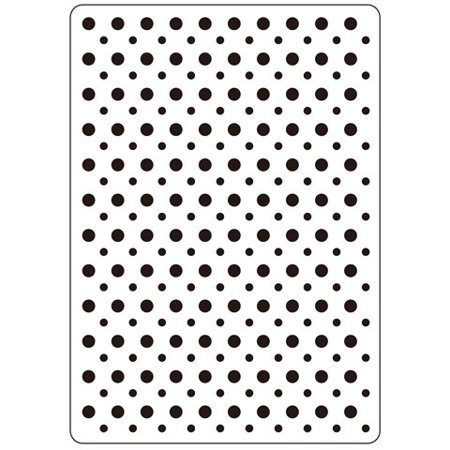 Embossing Folder Multi Size Dots 4.25X5.75 By Darice