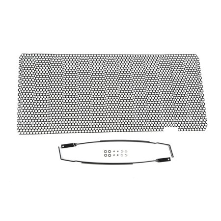 Rugged Ridge 11401.32 Grille Insert  Overlay; Mesh; Without Emblem Cutout; Painted; Black - image 1 of 1